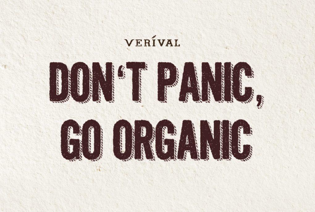 Don't panic go organic