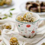Kürbis-Porridge-Glücksbällchen