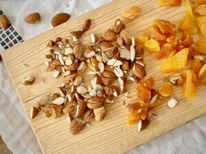 Rezept Protein Müsliriegel Mandel-Feige Zubereitung