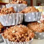 Rezept Frühstücksmuffins Banane Kakao Rezeptimage
