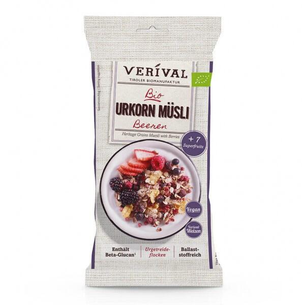 Verival Muesli ai Cereali antichi con Frutti di Bosco 50g