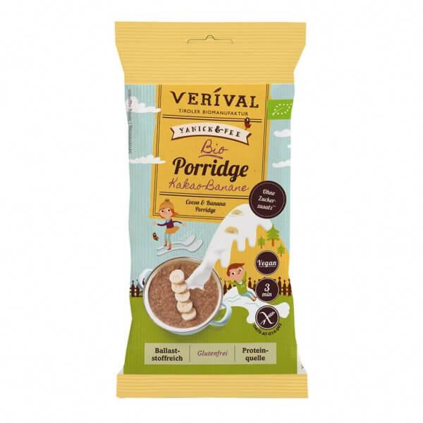 Porridge con Cacao e Banana 45g