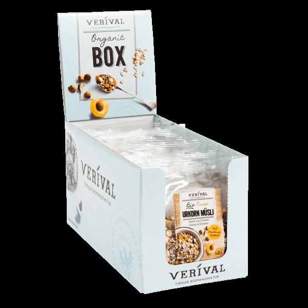 Cereal-Box Muesli ai Cereali antichi con Noci  12x 60g