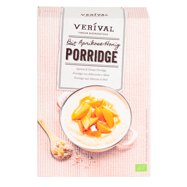 Porridge con Albicocche e Miele