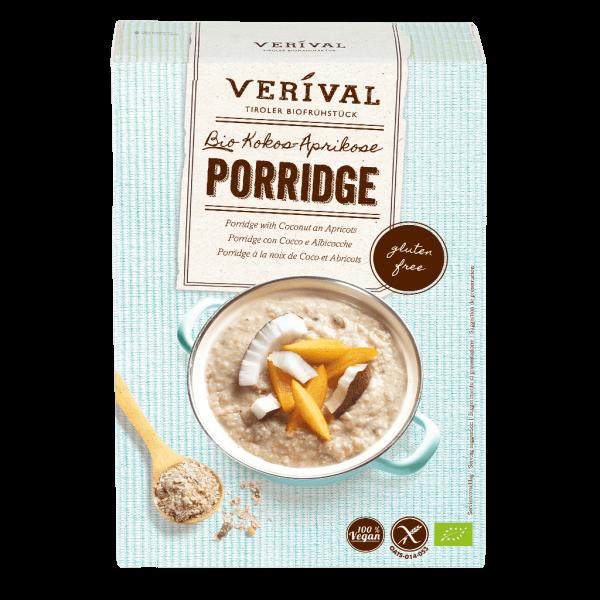 Porridge con Cocco e Albicocche