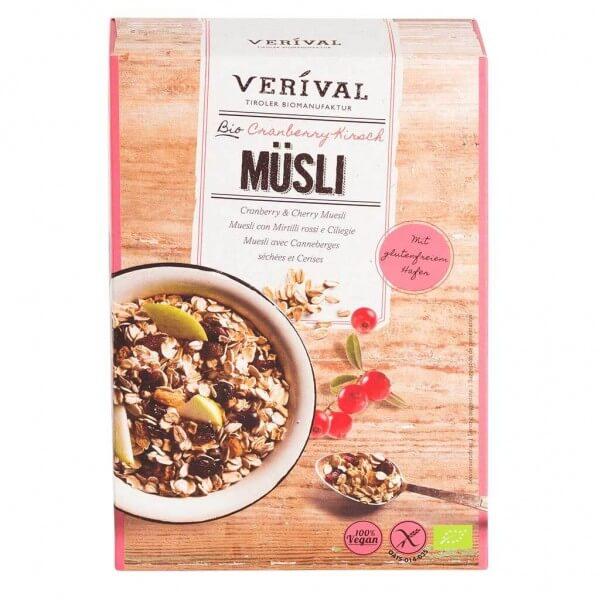 Verival Cranberry-Kirsch Müsli