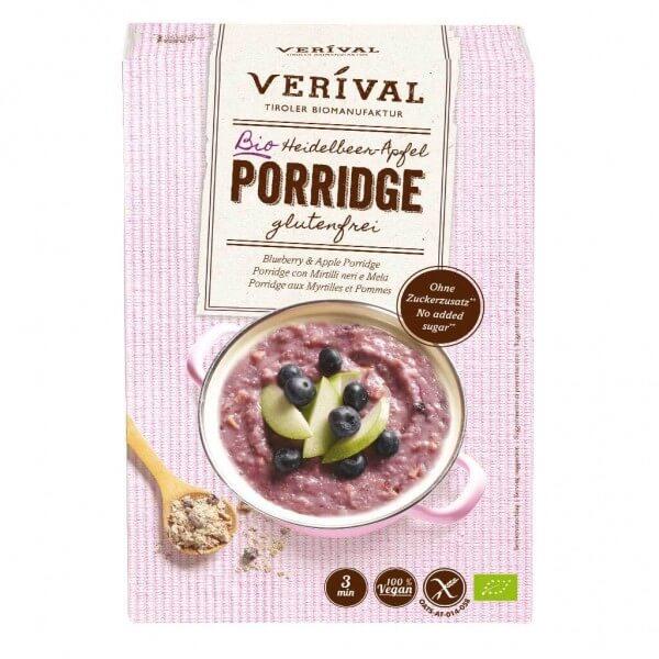 Verival Heidelbeer-Apfel Porridge