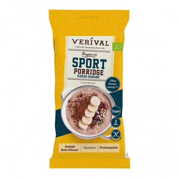 Porridge Sport Cioccolato e Banana 45g