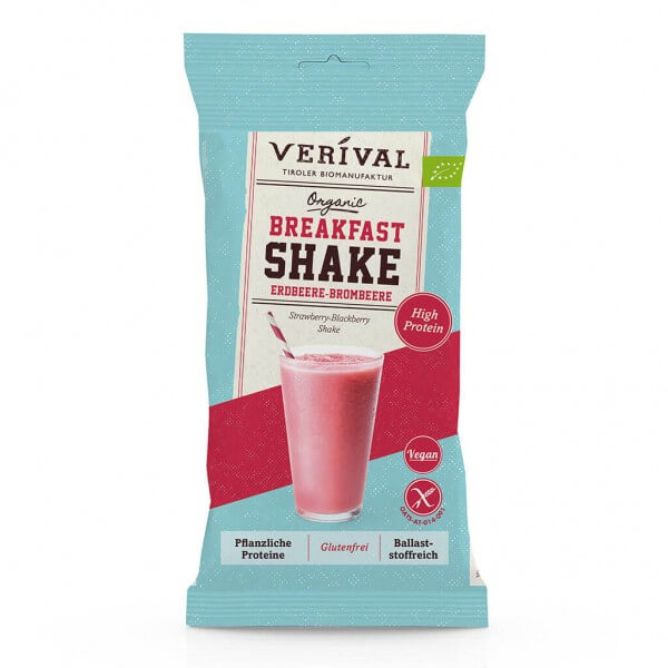 Verival Breakfast Shake Fragola e Mora 35g