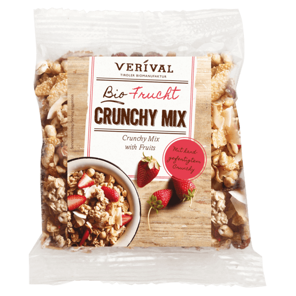 Crunchy croccante Mix con Frutta 45g