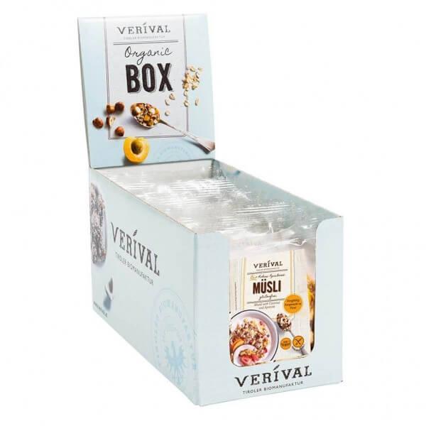 Verival Cereal Box Muesli con Cocco e Albicocche 12x 40g
