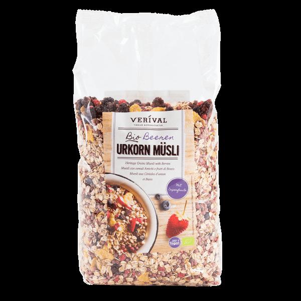 Muesli ai Cereali antichi con Frutti di Bosco1300g