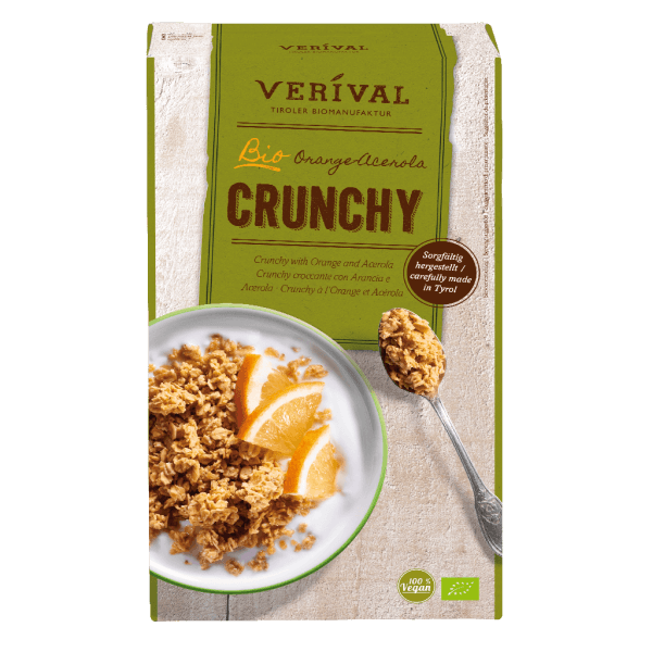 Verival Crunchy Croccante con Arancia e Acerola 325g