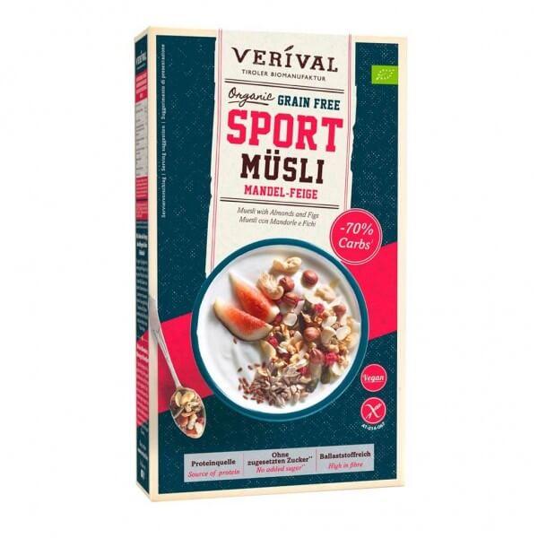 Muesli Sport Mandorle e Fichi senza Cereali