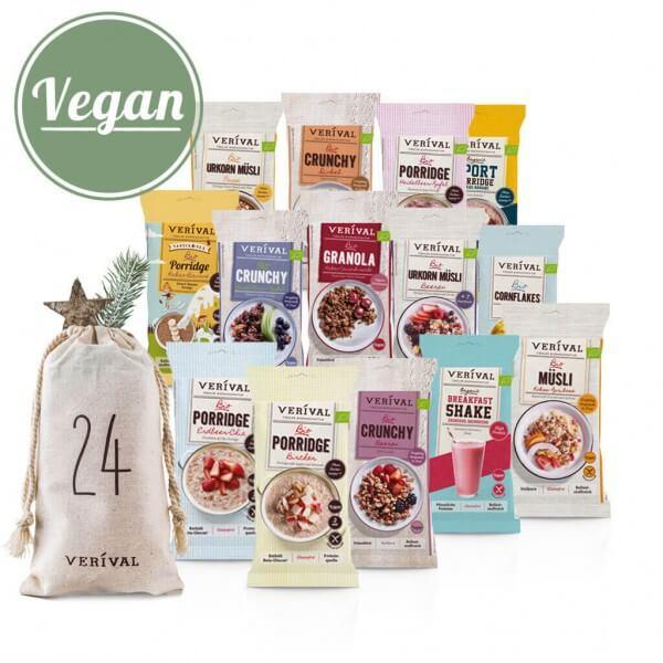 Refill per sacchettini Calendario dell'avvento vegani