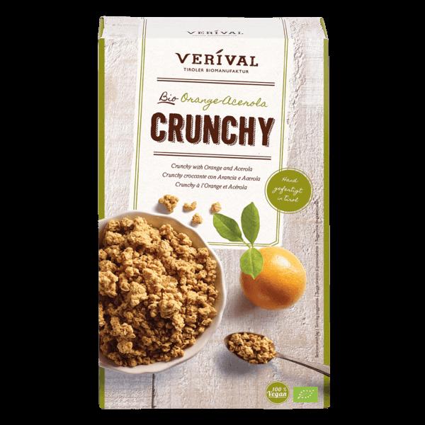 Crunchy croccante con Arancia e Acerola 325g