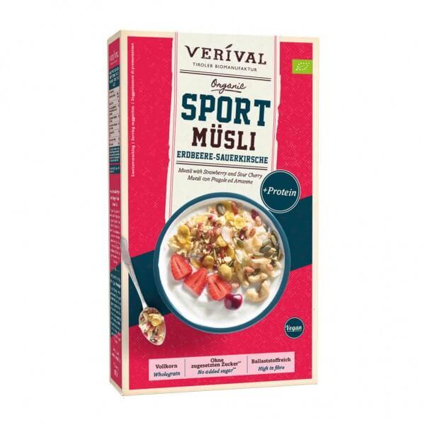 Sport Muesli Fragola-Amarena