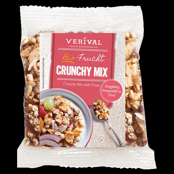 Verival Crunchy croccante Mix con Frutta 45g