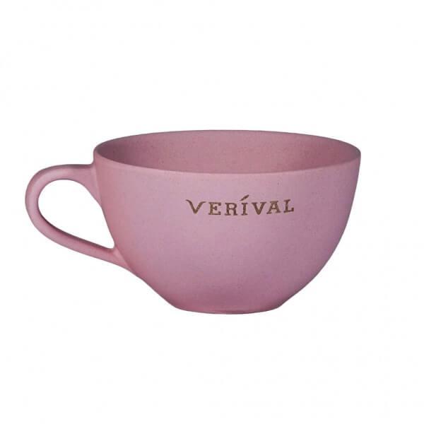 Verival Tazza per porridge rosa pastello