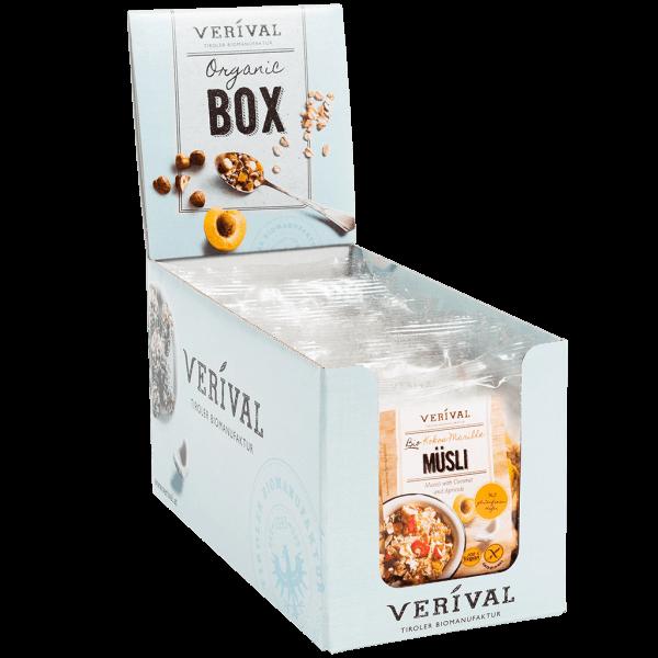 Cereal-Box Muesli con Cocco e Albicocche 12x 40g