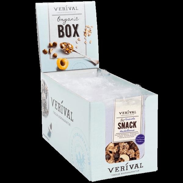 Cereal-Box Granola con Mirtilli 12x 45g