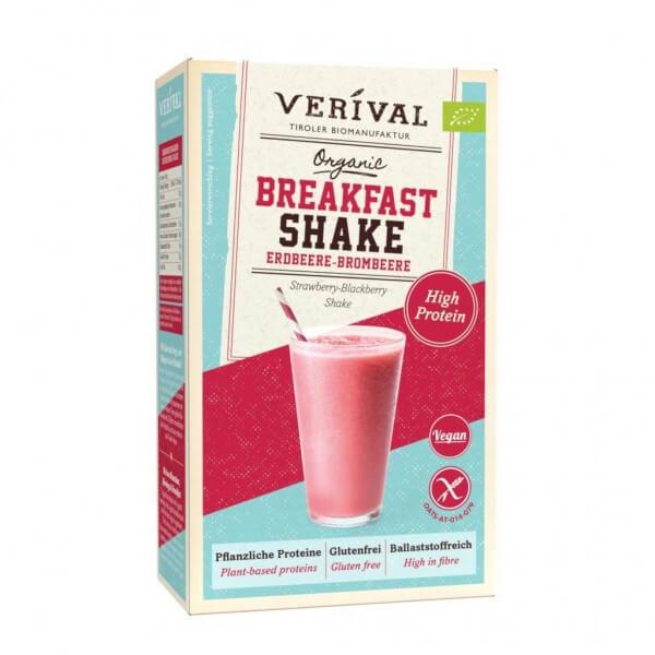 Breakfast Shake Fragola e Mora 280g