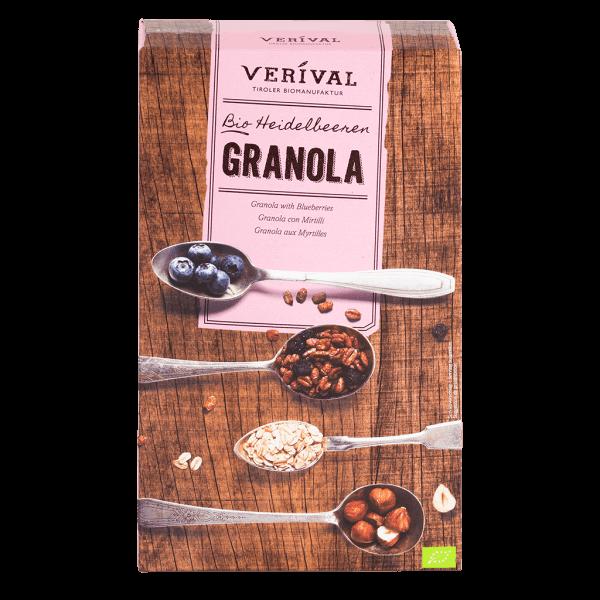Granola con Mirtilli