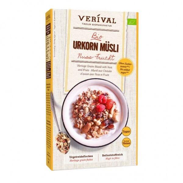 Muesli ai Cereali antichi con Noci e Frutta