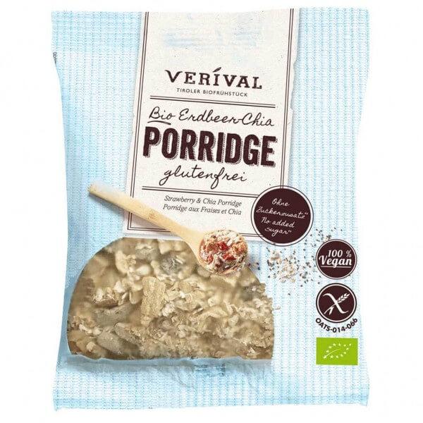 Verival Erdbeer-Chia Porridge 45g