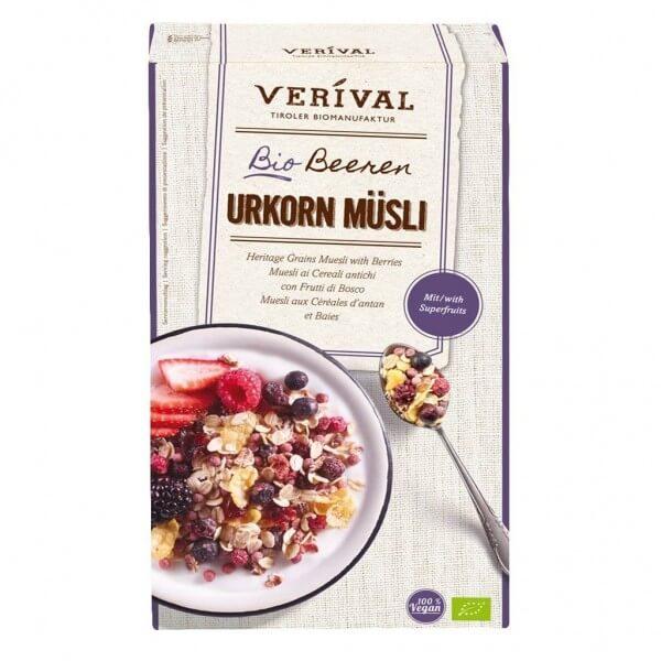 Verival Muesli ai Cereali antichi con Frutti di Bosco 325g