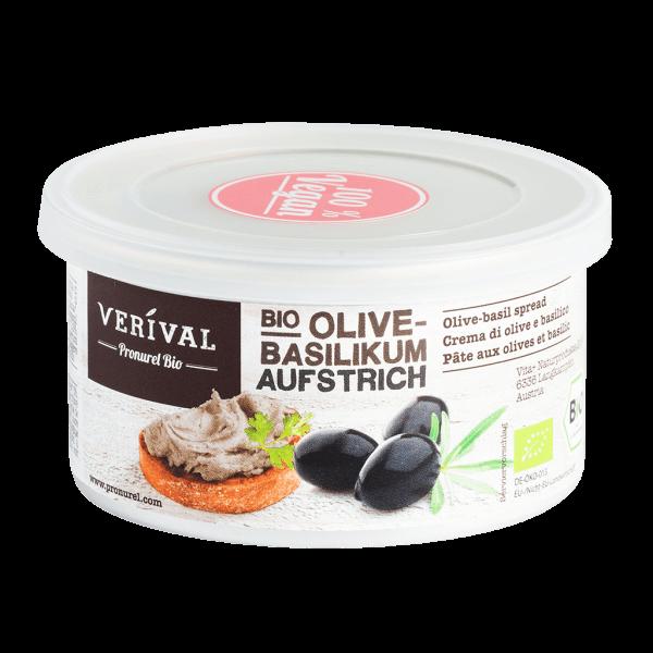 Crema da spalmare di Olive e Basilico