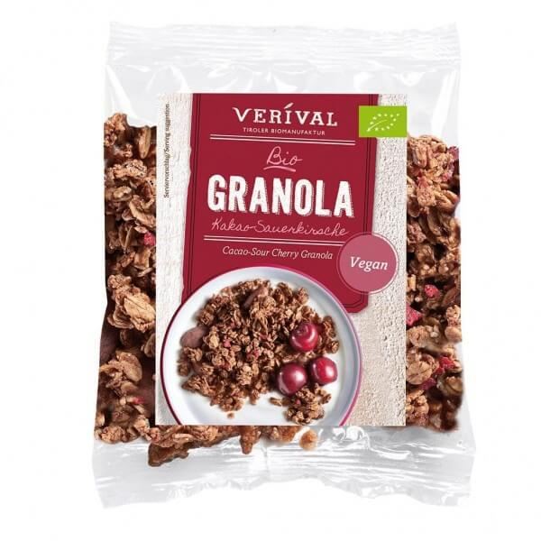 Verival Granola con Amarene e Cacao 45g